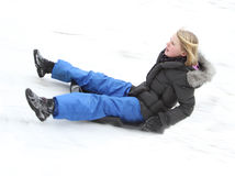 Toboggan Royalty Free Stock Images