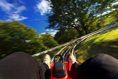 Toboggan-corrida do verão do interior Foto de Stock Royalty Free