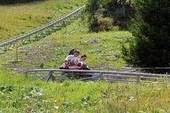 Toboggan d'été photo libre de droits