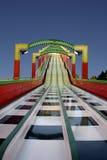 Toboggan della Luna Park Fotografia Stock Libera da Diritti