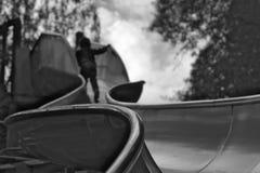 Toboggan rampicante Fotografia Stock