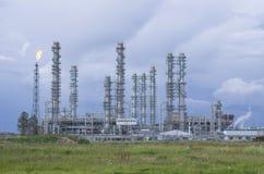 Tobol'sk, Russia - 16 luglio 2017: il ` del ` SIBUR della società Costruzione su grande scala del complesso chimico del gas Fotografie Stock