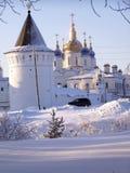 Tobolsk克里姆林宫。St.索菲娅大教堂 免版税库存照片