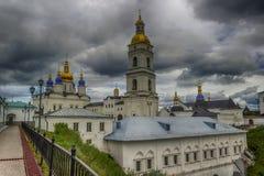 Tobolsk Κρεμλίνο και πανόραμα καθεδρικών ναών Sophia-υπόθεσης καμπαναριών Στοκ φωτογραφίες με δικαίωμα ελεύθερης χρήσης