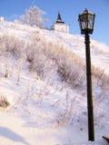 Tobolsk Κρεμλίνο. Νοτιοδυτικός πύργος στοκ εικόνες