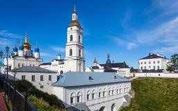 Tobolsk исторический Кремль, Россия Стоковые Фотографии RF
