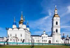 Tobolsk исторический Кремль, Россия Стоковая Фотография