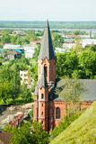 Tobolsk. Catholic Cathedral Stock Images