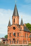 Tobolsk. Catholic Cathedral Stock Photos