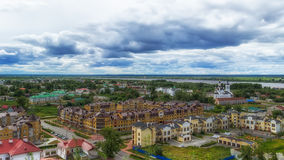 Tobolsk Church Zachariah and Elizabeth centre top view Royalty Free Stock Image