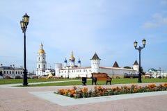 Tobolsk il Kremlin Fotografia Stock Libera da Diritti