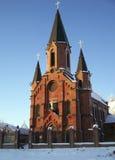 Tobolsk. Katholieke Kathedraal Stock Fotografie