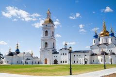Tobolsk Kremlin Royalty Free Stock Photo