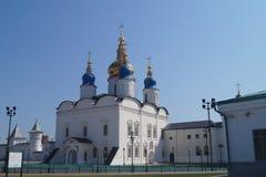 Tobolsk Kremlin lizenzfreie stockbilder
