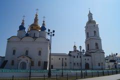 Tobolsk Kremlin stockfotografie