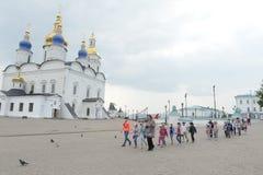Tobolsk Kremlin. Ancient city in Siberia. Russia. July 2016 Stock Photo