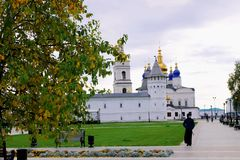 Tobolsk Kremlin in Siberia stock photography