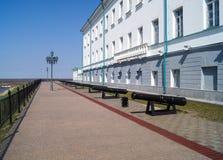 Tobolsk Kremlin Der alte russische Tempel in Sibirien Tobolsk der Kreml Stockbilder