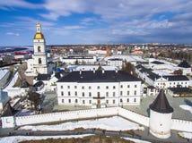 The Tobolsk Kremlin is the first stone Kremlin in Siberia royalty free stock photos