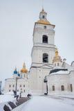 Tobolsk Kremlin Opinião do inverno Rússia fotos de stock royalty free