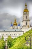 Tobolsk Kremlin panorama menacing sky Stock Photos