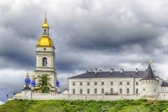 Tobolsk Kremlin panorama menacing sky Royalty Free Stock Image