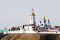 Tobolsk Kremlin. Siberian kremlin complex. St Sophia-Assumption Cathedral. Belltower. Russia Royalty Free Stock Photography