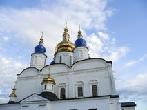 Tobolsk Kremlin. St. Sophia Cathedral. Stock Photo