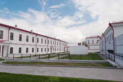 Tobolsk prison castle Royalty Free Stock Image