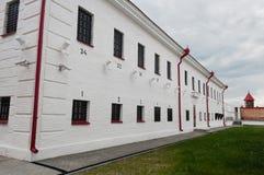 Tobolsk prison castle Royalty Free Stock Photo