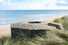 Free Tobruk Bunker WW2 ,Utah Beach. Stock Photography - 45978432
