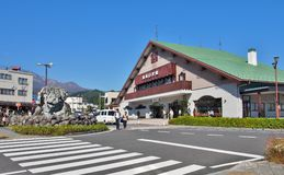 Tobu-Nikko Station: railway station in Nikko, Tochigi, Japan. Royalty Free Stock Images