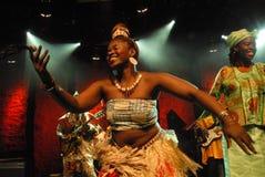 Toby Foyeh und Orchester Afrika Stockfotos