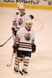 Toby Petersen dos Edmonton Oilers Fotos de Stock