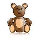 Toby Ted misia pluszowego zabawki charakteru kreskówka Fotografia Royalty Free