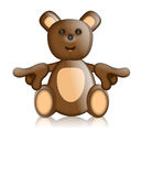 Toby Ted Teddy Toy Character Cartoon Royalty-vrije Illustratie