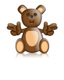 Toby Ted Teddy Toy Character Cartoon Imagenes de archivo