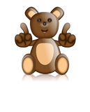 Toby Ted Teddy Toy Character Cartoon Stock Illustratie