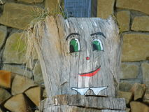 Tocón sonriente Fotografía de archivo libre de regalías