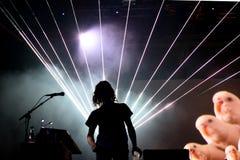 Toc-toc (banda) di concerto al festival 2015 del suono di Primavera Fotografia Stock