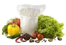 Toca con las verduras aisladas Imagen de archivo libre de regalías