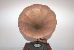 Tocadiscos antiguo de Victor Victrola Portable Gramophone Phonograph foto de archivo