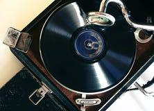 Tocadiscos del vintage Fotografía de archivo libre de regalías