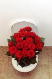 Tocador con las rosas Fotos de archivo