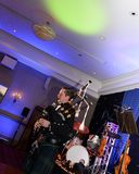 Tocador de gaita-de-foles escocês Foto de Stock