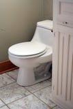 Tocador del cuarto de baño imagenes de archivo