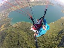Tocando no céu - França 2013 Imagens de Stock Royalty Free
