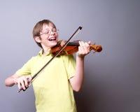 Tocar el violín Fotografía de archivo