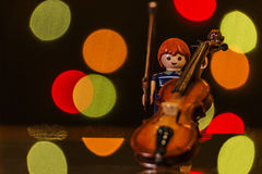 Tocata and flight in Bokeh greater. 85/5000 Stock Photography
