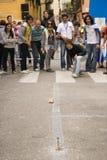 Tocati, Verona, Straßen-Spiel Stockbilder